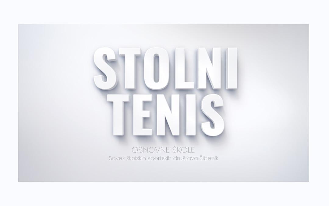 Stolni tenis, naslovna slika SŠSD ŠKŽ za osnovne škole.