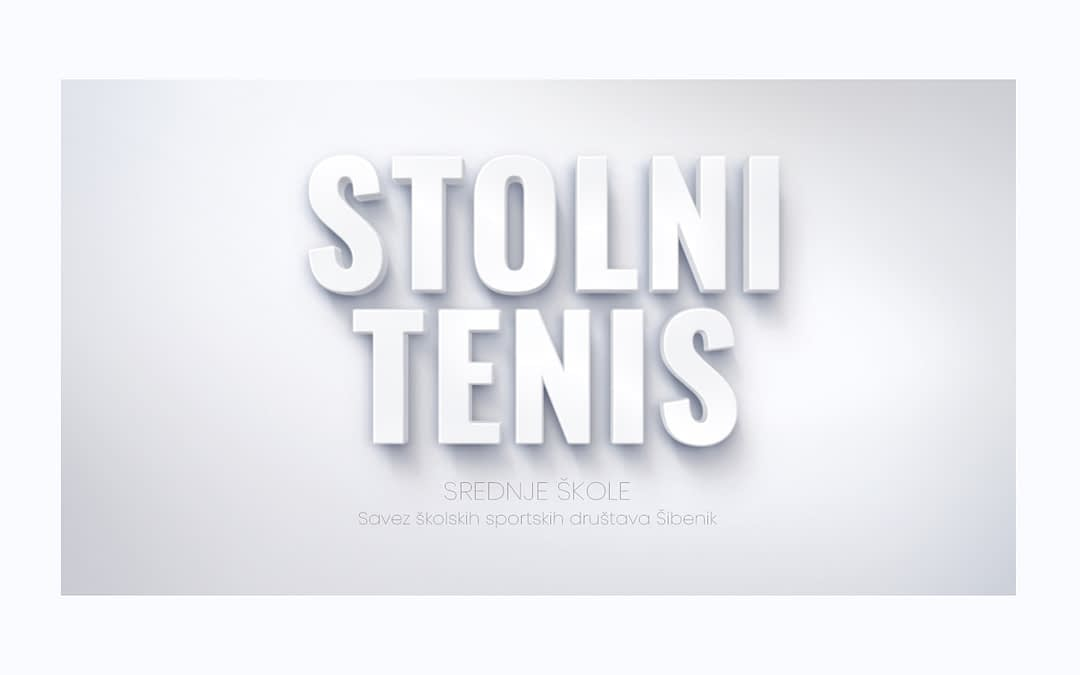 Stolni tenis, naslovna slika SŠSD ŠKŽ za srednje škole.
